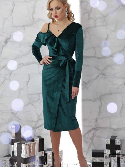58103650ab56f6b Молодежное коктейльное платье