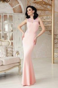 Вечернее платье с красивой спиной 3