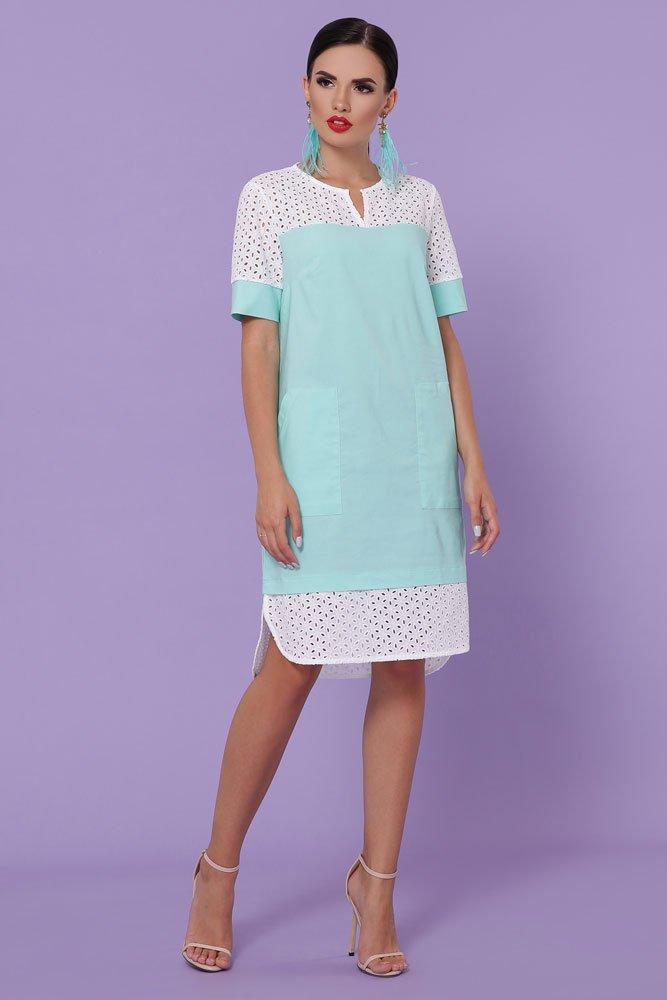 Прямое платье до колен 7