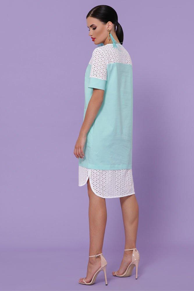 Прямое платье до колен 8