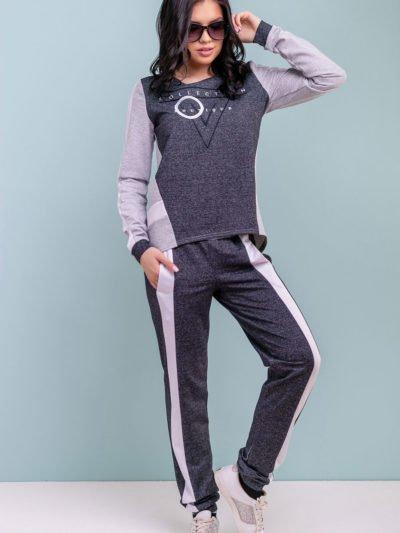 Спортивный костюм женский: двунитка
