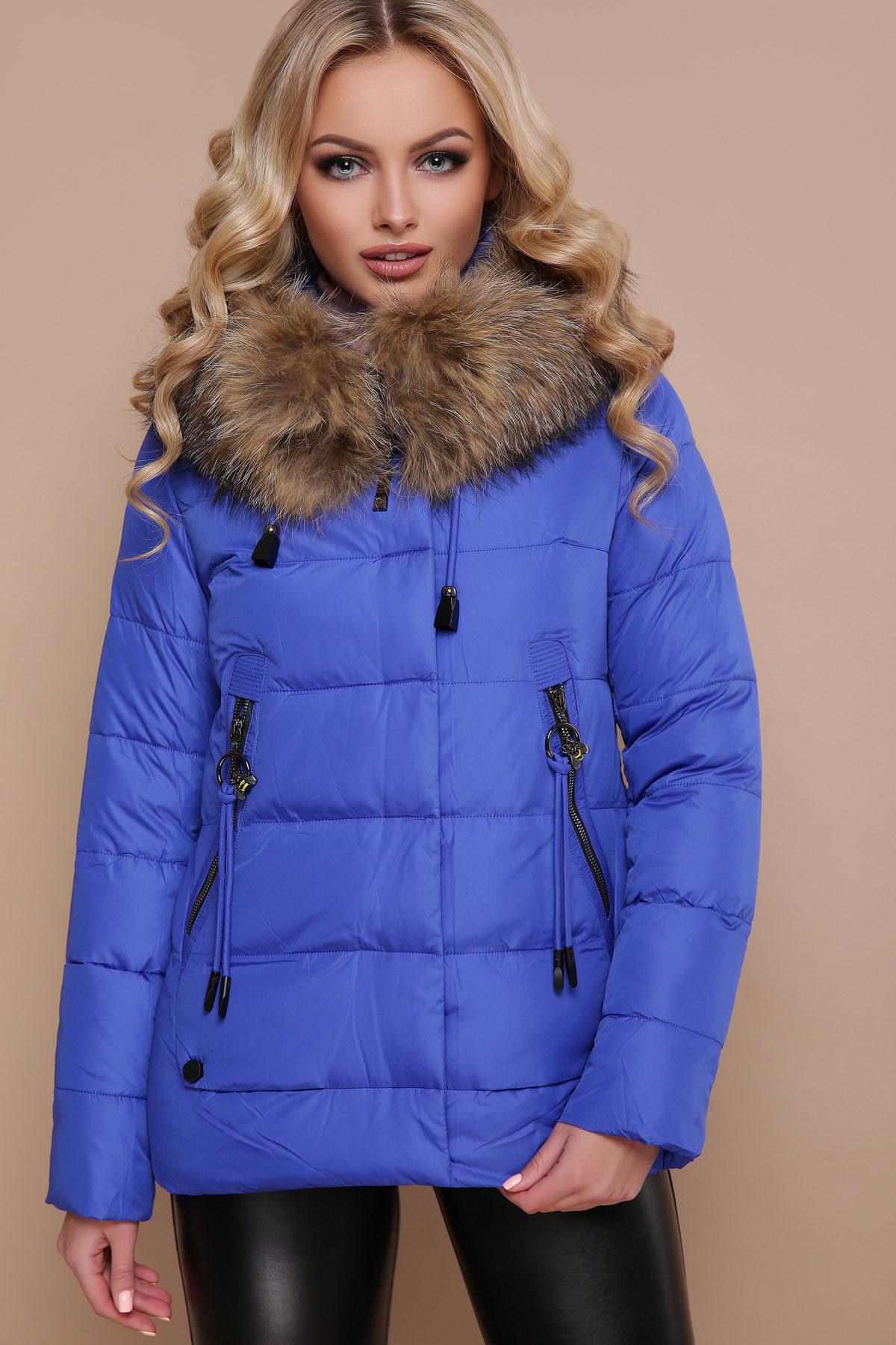 Удлиненная зимняя куртка женская