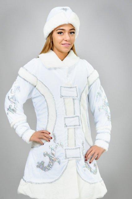 Новогодний костюм снегурочки для взрослых