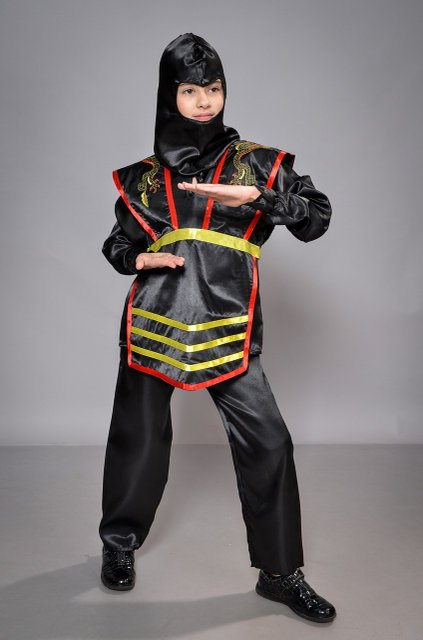 костюм на мальчика ниндзя