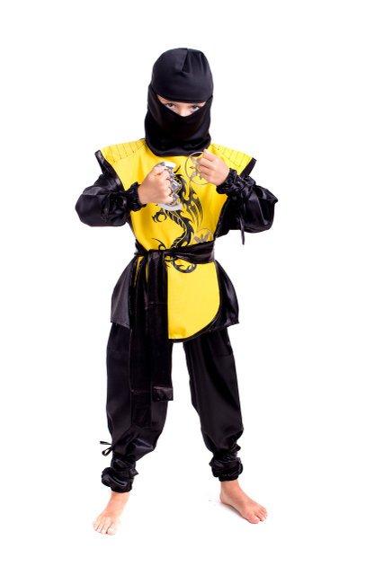 костю ниндзя желтый