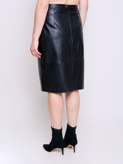 юбка из кожзама 2