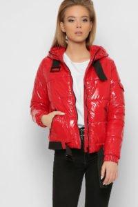 Короткая лаковая куртка2