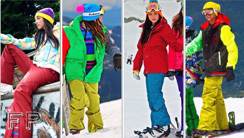 лыжные куртки флис