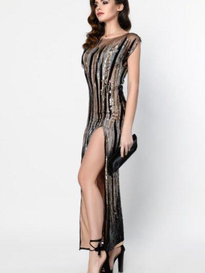 Платье в пол с пайетками купить2
