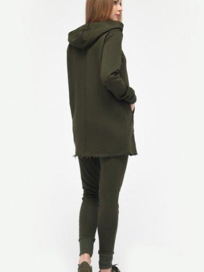 Женский спортивный костюм с толстовкой3