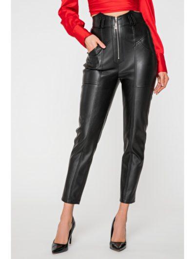 Женские кожаные брюки купить