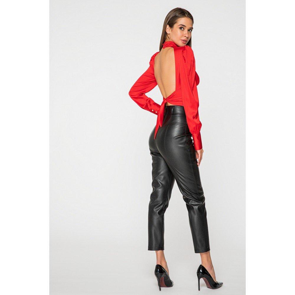 Женские кожаные брюки купить2