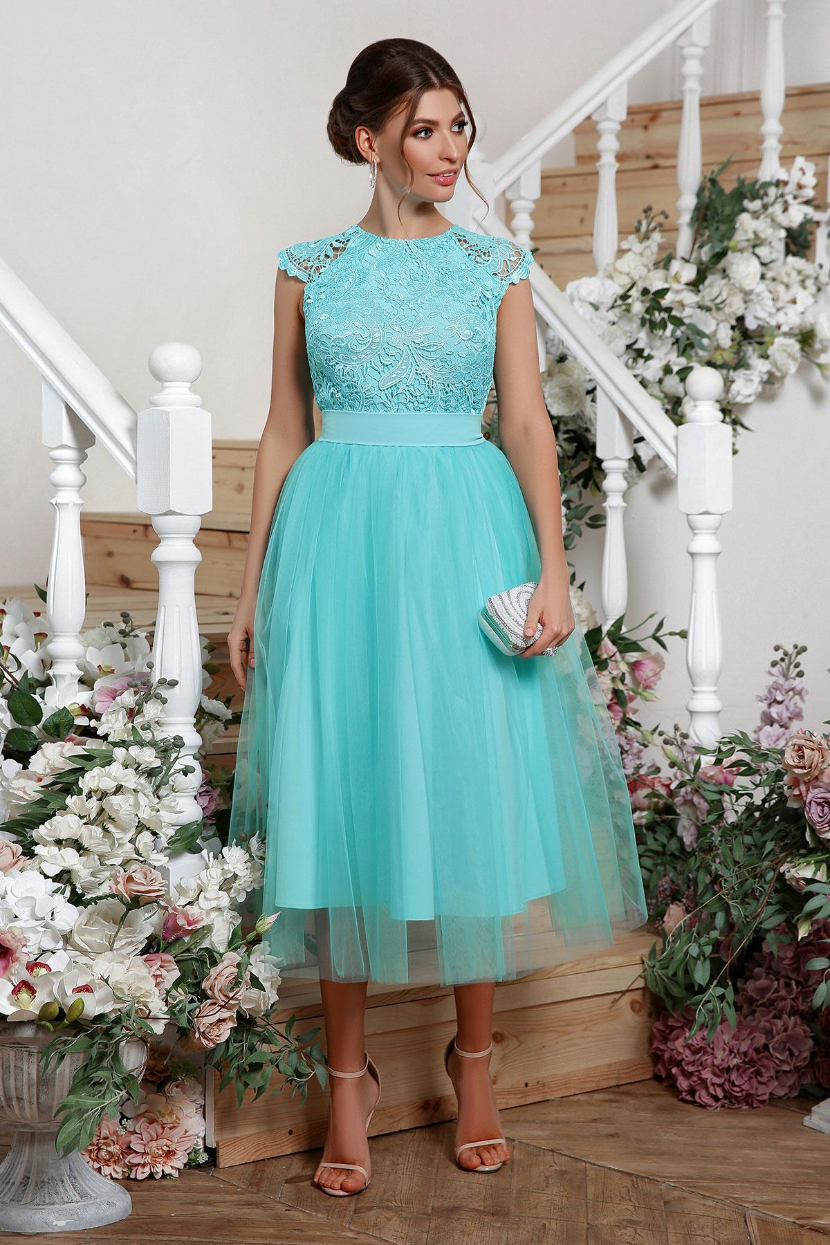 Платье вечернее пышная юбка 3