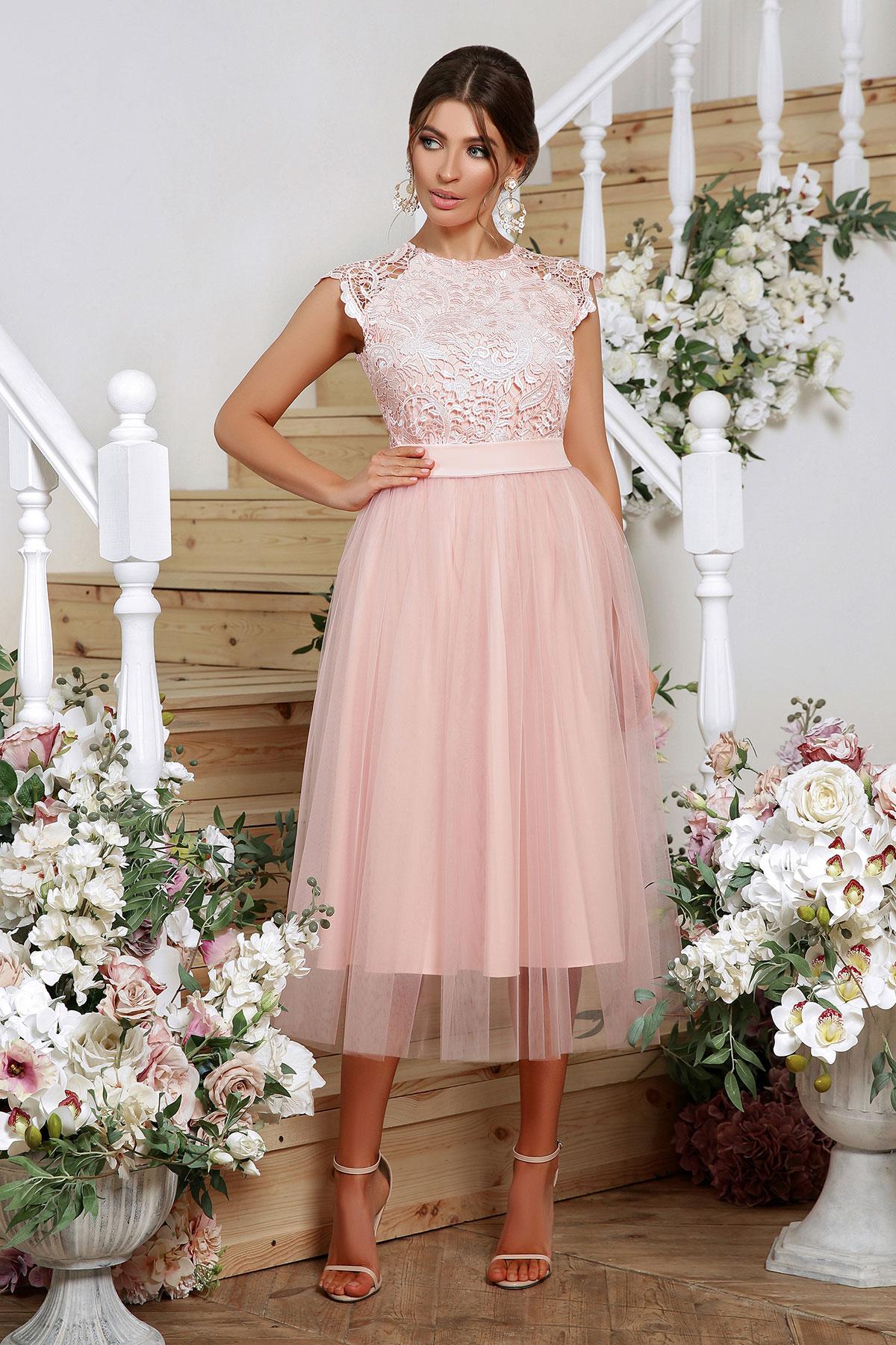 Выпускное платье с пышной юбкой 2