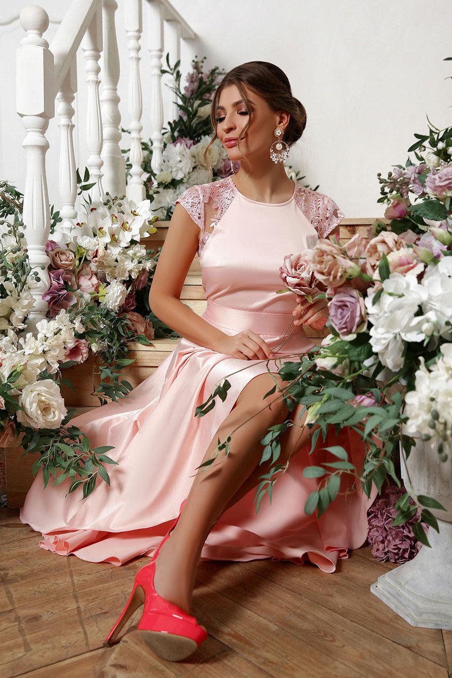 Платья для выпускного: ассиметричное платье 4