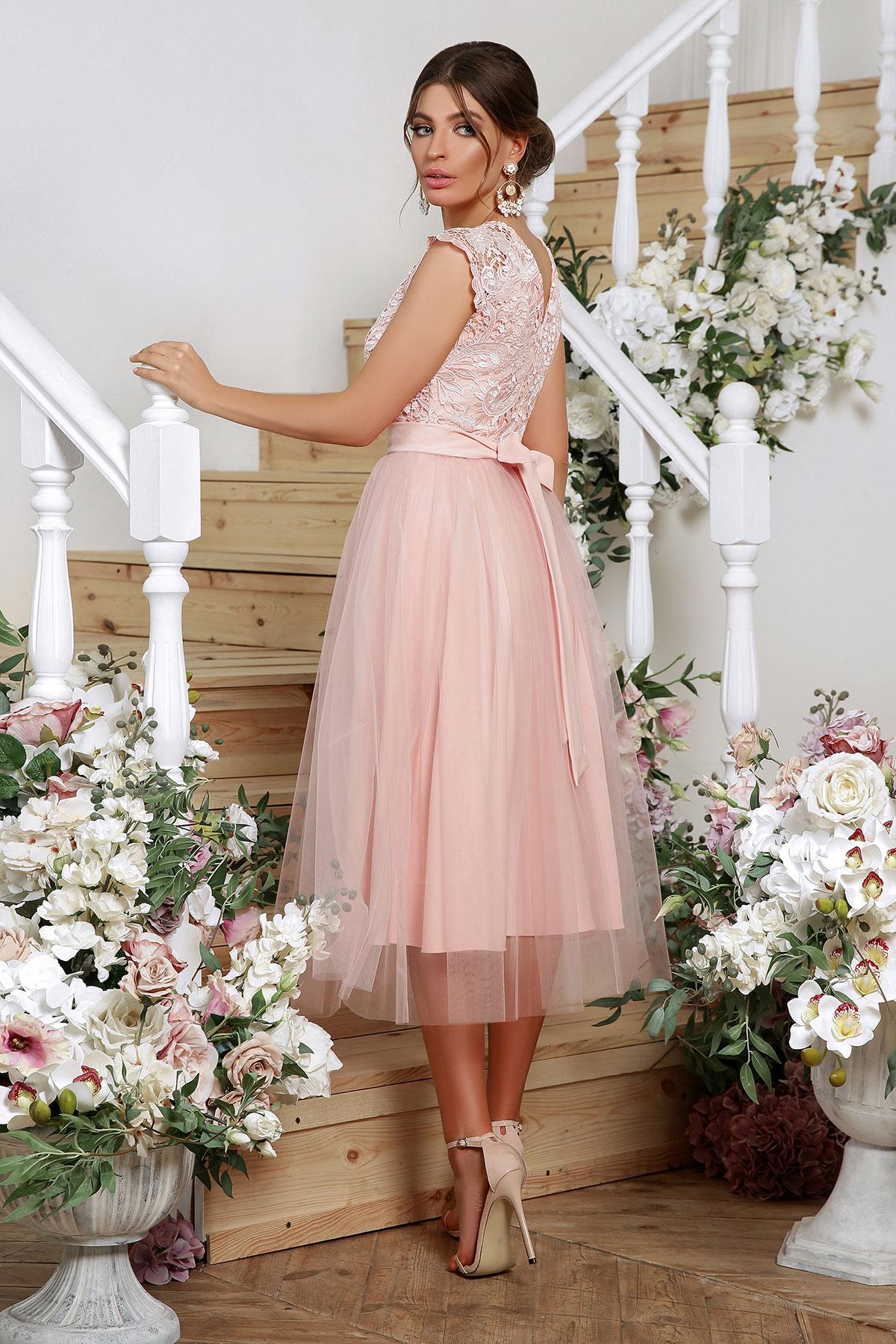 Выпускное платье с пышной юбкой 3
