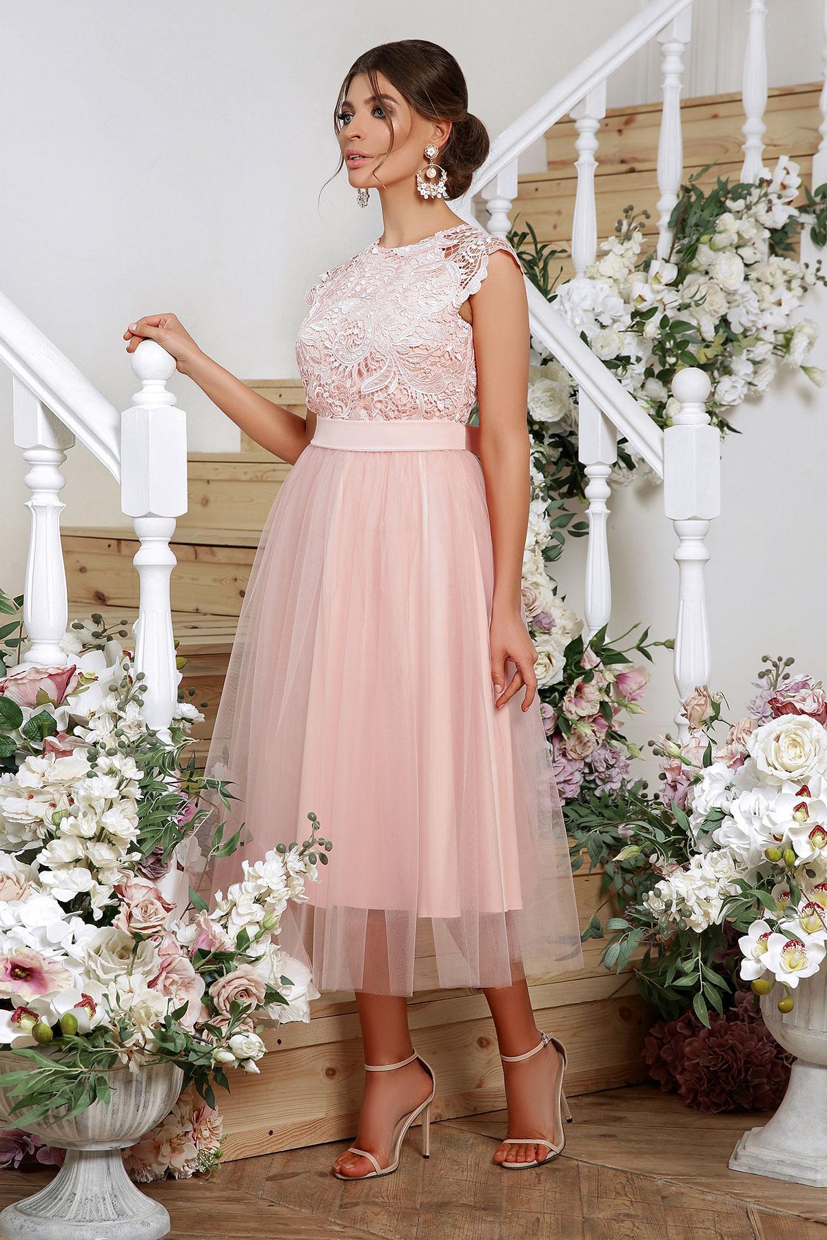 Выпускное платье с пышной юбкой 4