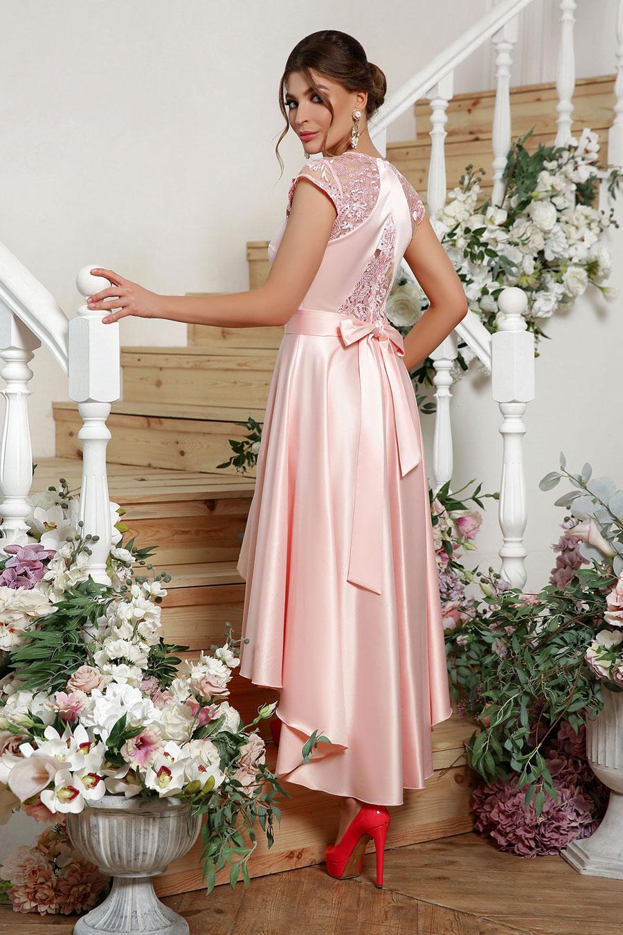 Платья для выпускного: ассиметричное платье 3