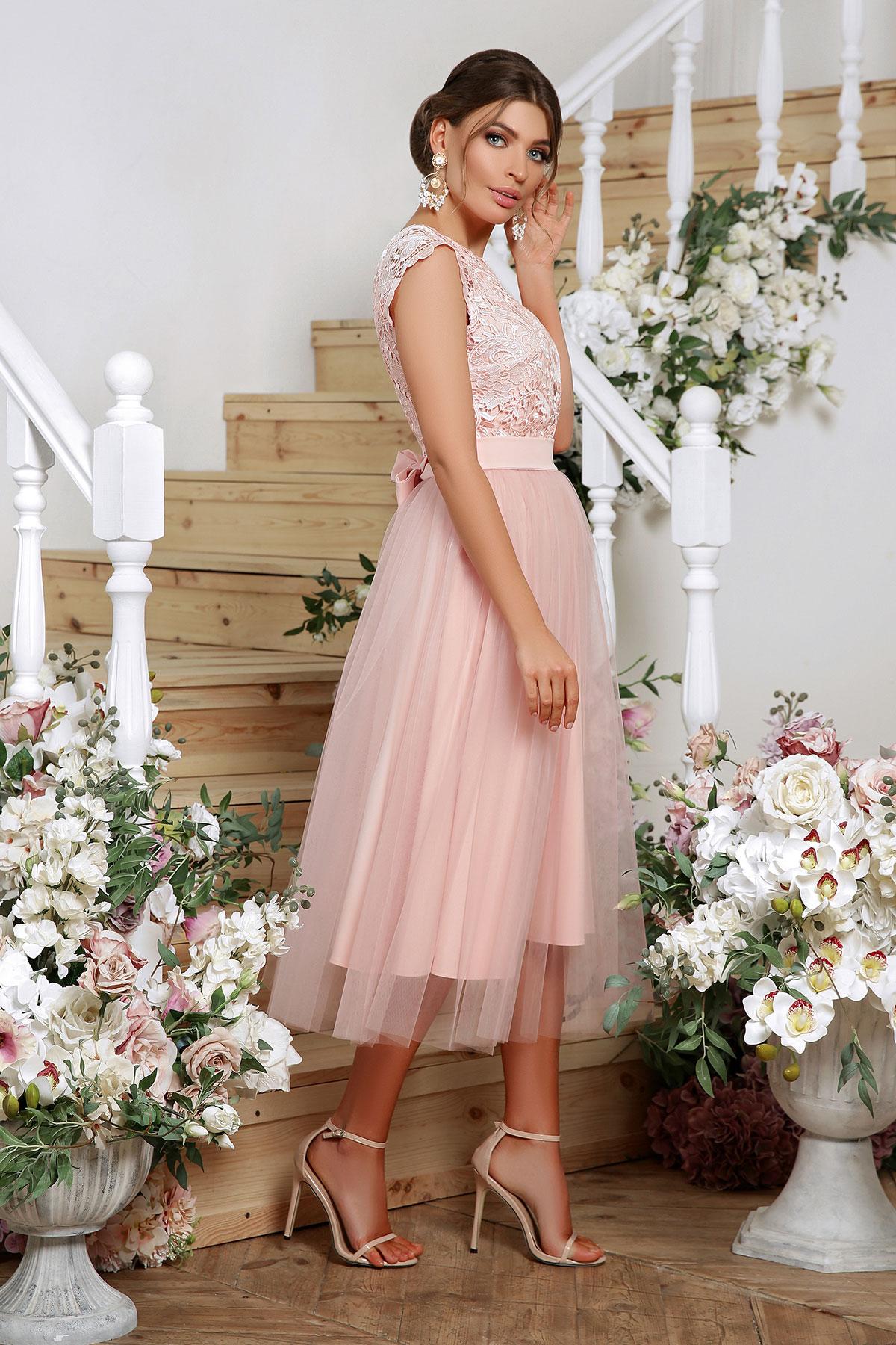 Выпускное платье с пышной юбкой 5