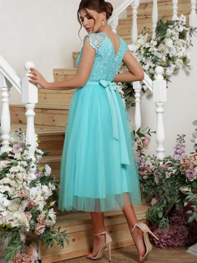 Платье вечернее пышная юбка 5