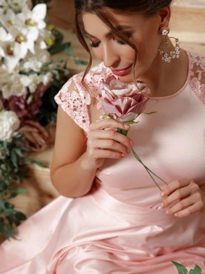 Платья для выпускного: ассиметричное платье 2