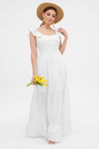 Купить летнее платье хлопок-прошва