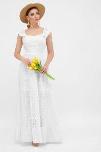 Купить летнее платье хлопок-прошва 2